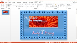 How To Make Your Own Thank You Card in Microsoft PowerPoint