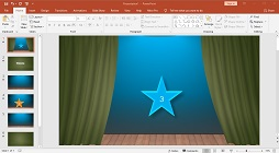 How to Create a Slide Show Text Animation and Star Countdown Timer in Microsoft PowerPoint