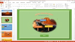 How to Make Animations and Slideshow Menu on Powerpoint