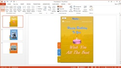 How to Make Slideshows Menu Animation Text, Images and Videos at Microsoft Powerpoint