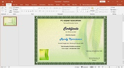 How to Make a Certificate Picture Watermark in Microsoft PowerPoint