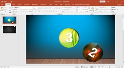 How to Make a Number Text Countdown Bouncing Animation in Microsoft PowerPoint