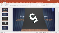 How to Make a Presentation Slide Show Animation Countdown Timer on Microsoft PowerPoint