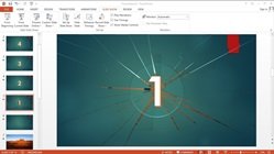 How to Make a Slide show Animation Count Down Text and Image in Microsoft PowerPoint