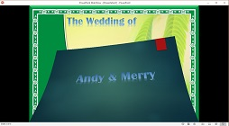 How to Make an Animated Digital Wedding Invitation Video With Music in Microsoft Word