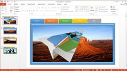 How to Make an Animated Tab Menu Slideshow on Powerpoint