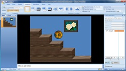 How to make a bouncing ball animation with motion paths in Microsoft PowerPoint