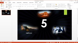 How to Make an Animated Slide Show Count Down Image With Music in Microsoft PowerPoint