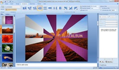 How to create a slideshow with music in powerpoint.